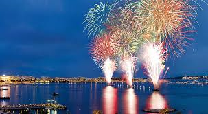 SOIREE FEU D'ARTIFICE  « BAIE DE CANNES »